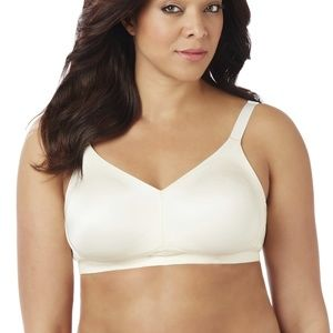 Catherines No Wire Back Smoother Bra Ivory 38C